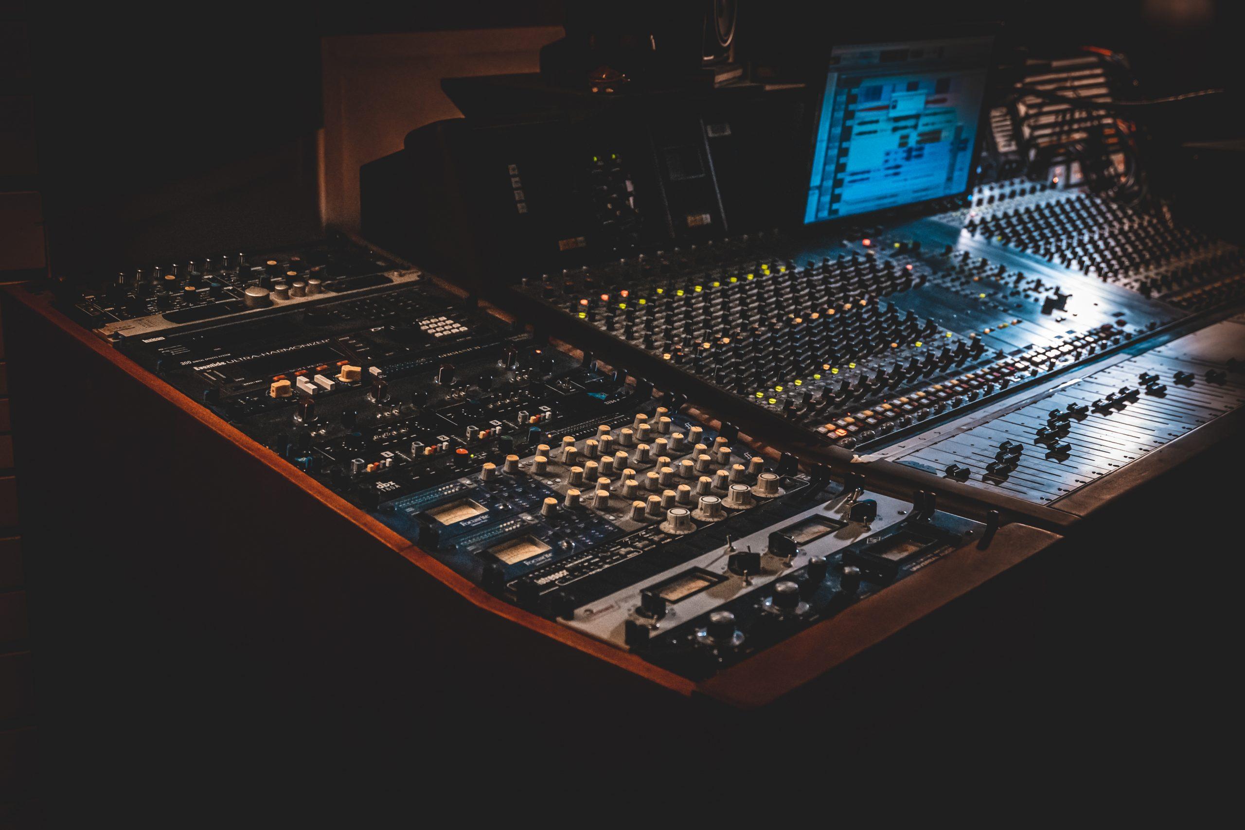 Recording Studio Dublin scaled
